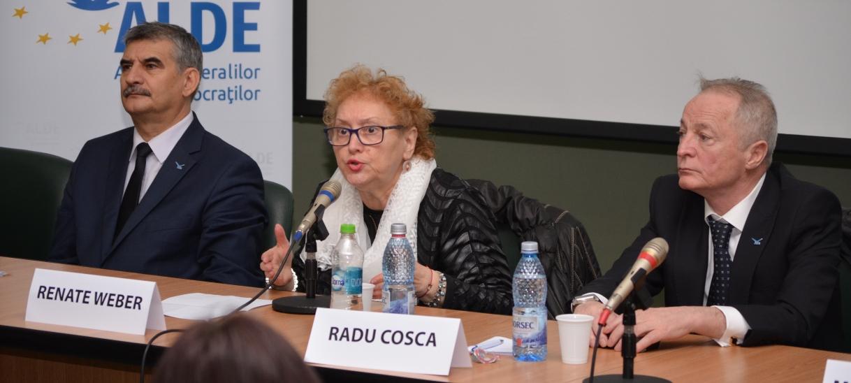 Renate Weber: Dacă dublul standard în domeniul calității nu este eliminat, nu voi votadirectiva